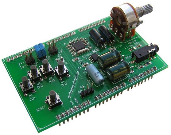 Arduino FM-shield TDA5767