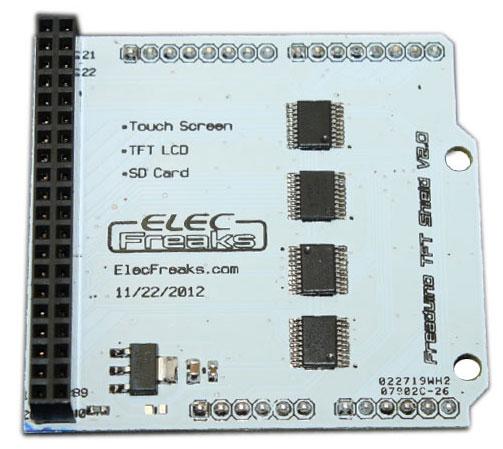 Адаптер LCD-TFTUno адаптер Shield