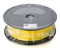 Пластик PLA 1.75 мм жёлтый