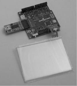 Сенсорная панель и Arduino