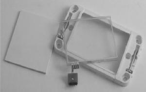 Подрозетник с сенсорной панелью