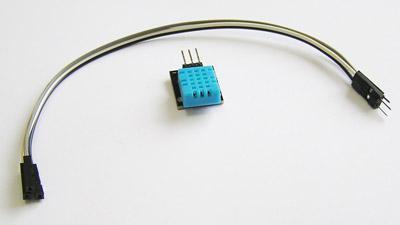 Модуль датчика DHT-11 (температура/влажность) с кабелями