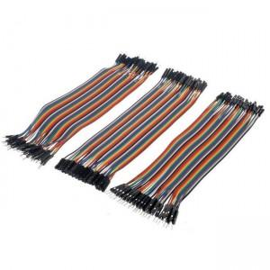 Комплект кабелей Dupont «мама-мама», «папа-мама», «папа-папа» 20 см