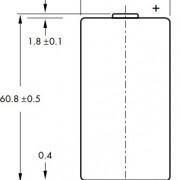 Размеры батарейки EEMB LSH20