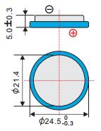 Аккумулятор EEMB LIR2450