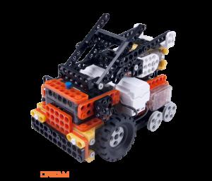 ROBOTIS DREAM LEVEL 4: Робот-авто с лестницей