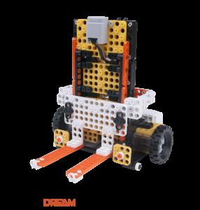 ROBOTIS DREAM LEVEL 4: Робот-погрузчик