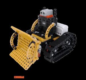 ROBOTIS DREAM LEVEL 4: Робот-бульдозер