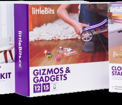 Обучающие конструкторы LittleBits