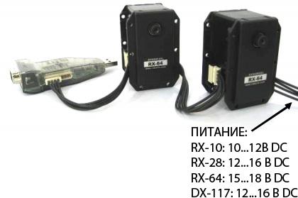 Подключение USB2Dynamixel к Dynamixel DX/RX