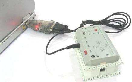 Работа USB2Dynamixel в режиме преобразователя USB-Serial