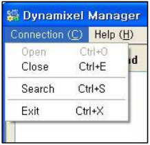 Dynamixel Manager