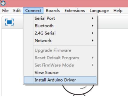 Работа с mBlock: установка драйвера Arduino