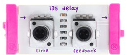 "Модуль littleBits i35 ""delay"""