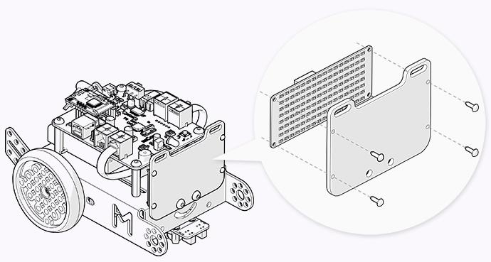 Світлодіодна матриця для mBot
