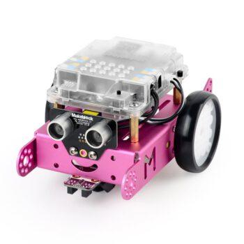 Обучающий робот-конструктор Makeblock mBot v1.1 розовый