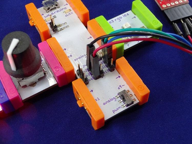 littleBits Arduino + Bluetooth