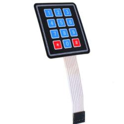 Клавиатура мембранная на 12 кнопок