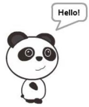 makeblock ranger - панда каже Hello