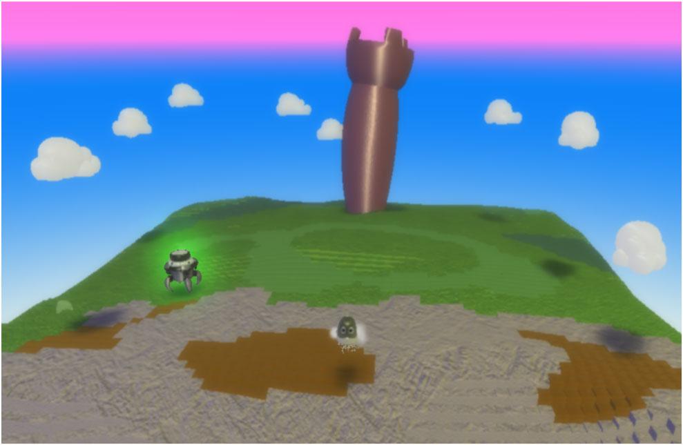 Micro:bit + Kodu, урок 3: Доберіться до замку