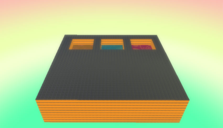 Micro:bit + Kodu, Резервуари - Крок 1: Дизайн світу