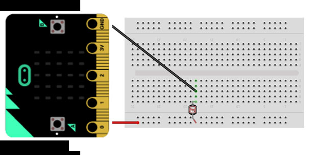 Micro:bit + Kodu, Урок 8 - Крок 3: Макетна плата