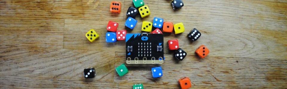 Micro:bit гральний кубик