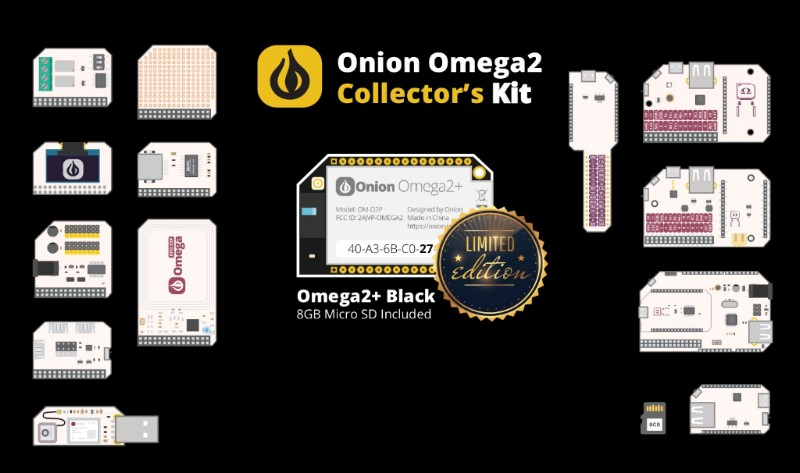 Omega2 + Collector's Kit.