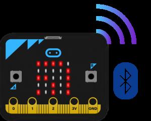 Bluetooth microbit