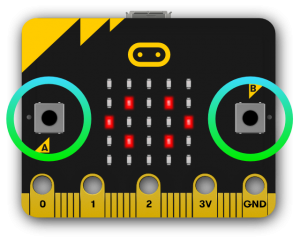 кнопки Micro:bit