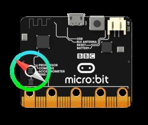 Компас microbit