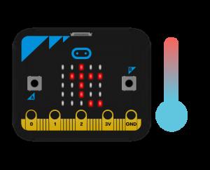 Датчик температури Micro:bit