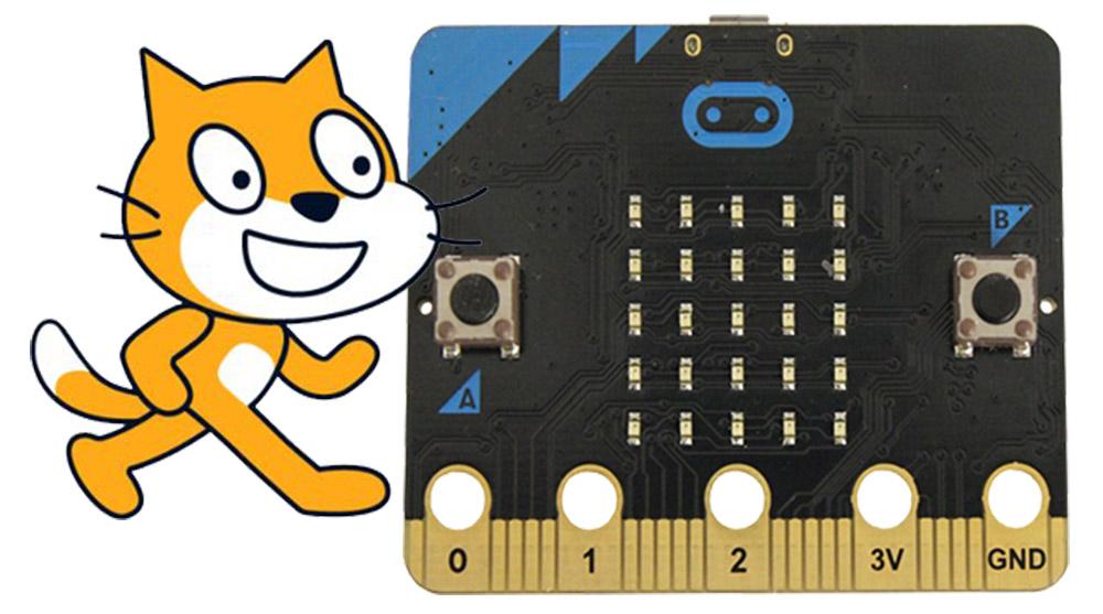 Починаємо роботу з Scratch для micro:bit