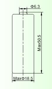 Батарейка EEMB CR18505SL-FT