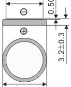 Размеры батарейки EEMB CR2032