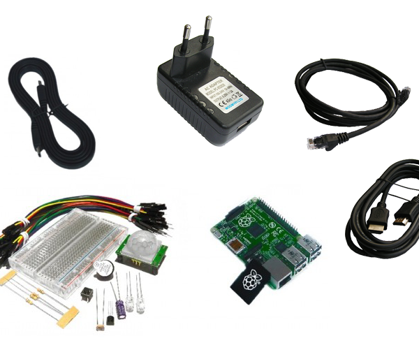 Hacker Kit c Raspberry Pi 2 Model B