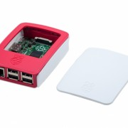 Official Raspberry Pi B+2 Red & White Case