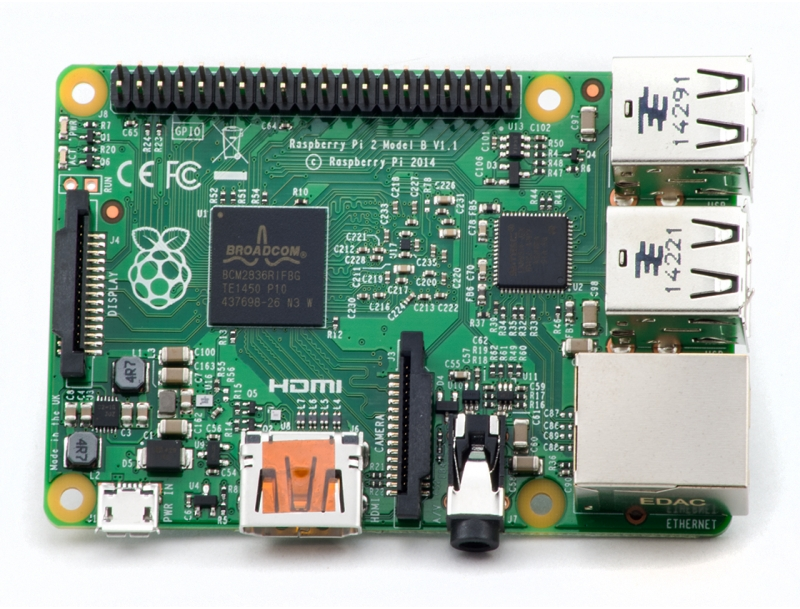 Raspberry Pi 2 - Model B (NEW)