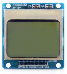Модуль графического дисплея Nokia 5110