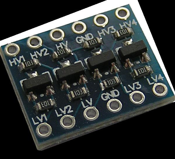 Преобразователь уровней Arduino-Raspberry