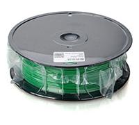 Пластик PLA 1.75 мм зелёный