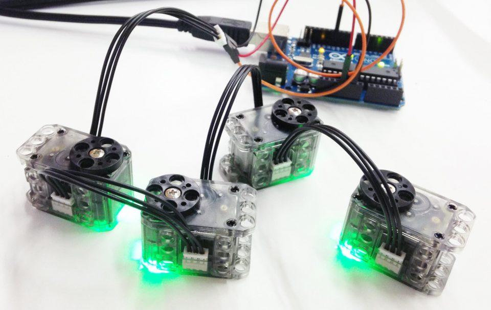 Arduino + Dynamixel XL320