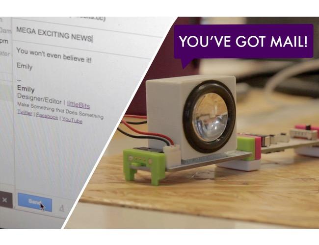 Проект littleBits: у вас новий лист!