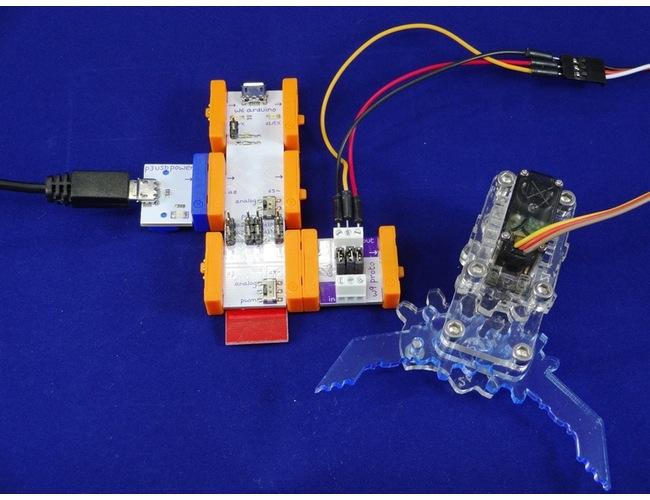 Проект LittleBits: Роботизована рука MeArm
