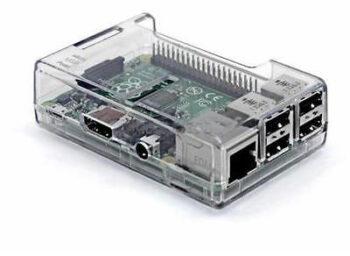 Корпус для Raspberry Pi 3 Model B прозрачный