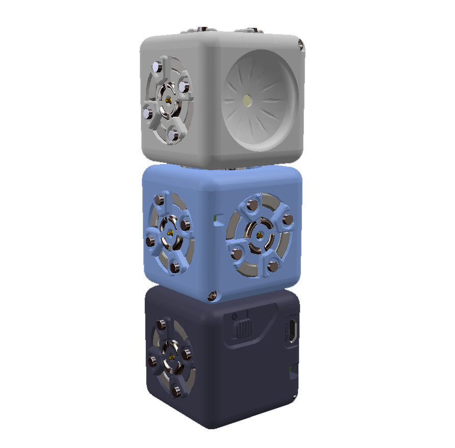 Cubelets Blockly, робот для завдання #3: Блимання