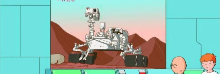 Пригоди Марка на Марсі з Mareblock Ranger, глава 9 - початок