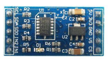 Модуль датчика ускорения ADXL345