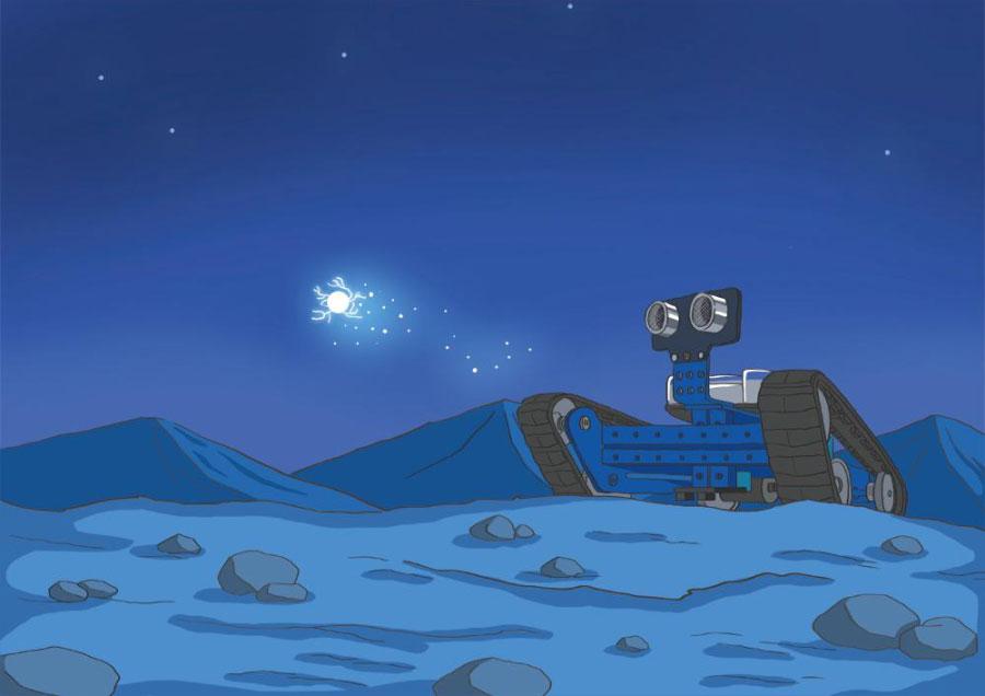 Пригоди Марка на Марсі з Makeblock Ranger. Глава 12: Кінець глави