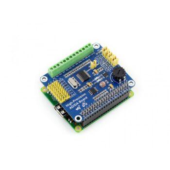 Плата WaveShare АЦП/ЦАП для Rapsberry Pi